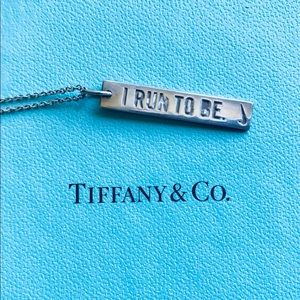 Tiffany and Co sterling silver necklace